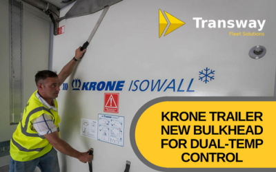 Krone Trailer's new bulkhead for dual-temp control
